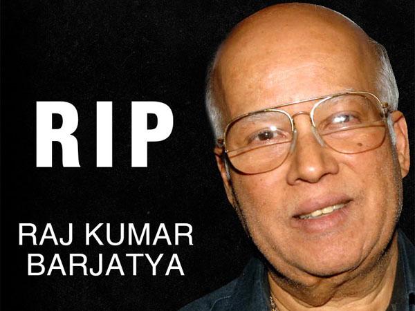 Raj Kumar Barjatya of Rajshri films passes away in Mumbai