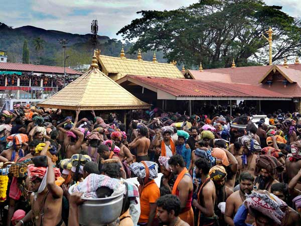 Kerala: Devotees throng to Sabarimala temple for five-day monthly puja