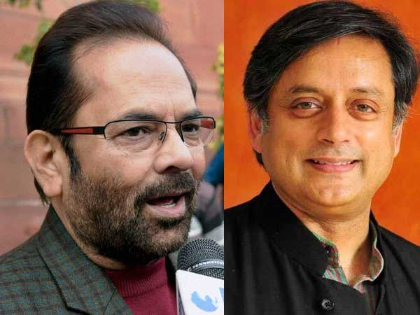 Shashi bhai toh love guru hain: Naqvis dig at Tharoors Valentine's Day tweet against Sangh Parivar