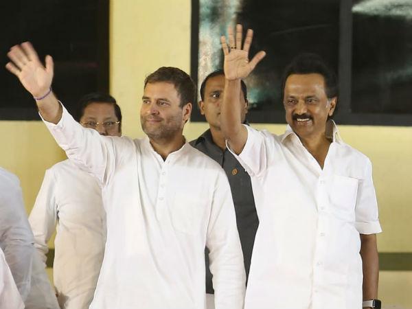 DMK-Congress: Frenemies' first Lok Sabha alliance dates back to 1971