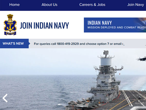 Indian Navy Recruitment 2019: SSC posts, vacancy details, important dates