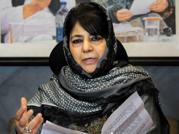 Painfully embarrassing says Mehbooba on Modi's cloud comment