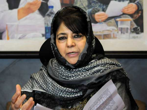 Pulwama attack: Mehbooba Mufti backs Pakistan, says Imran Khan deserves another chance