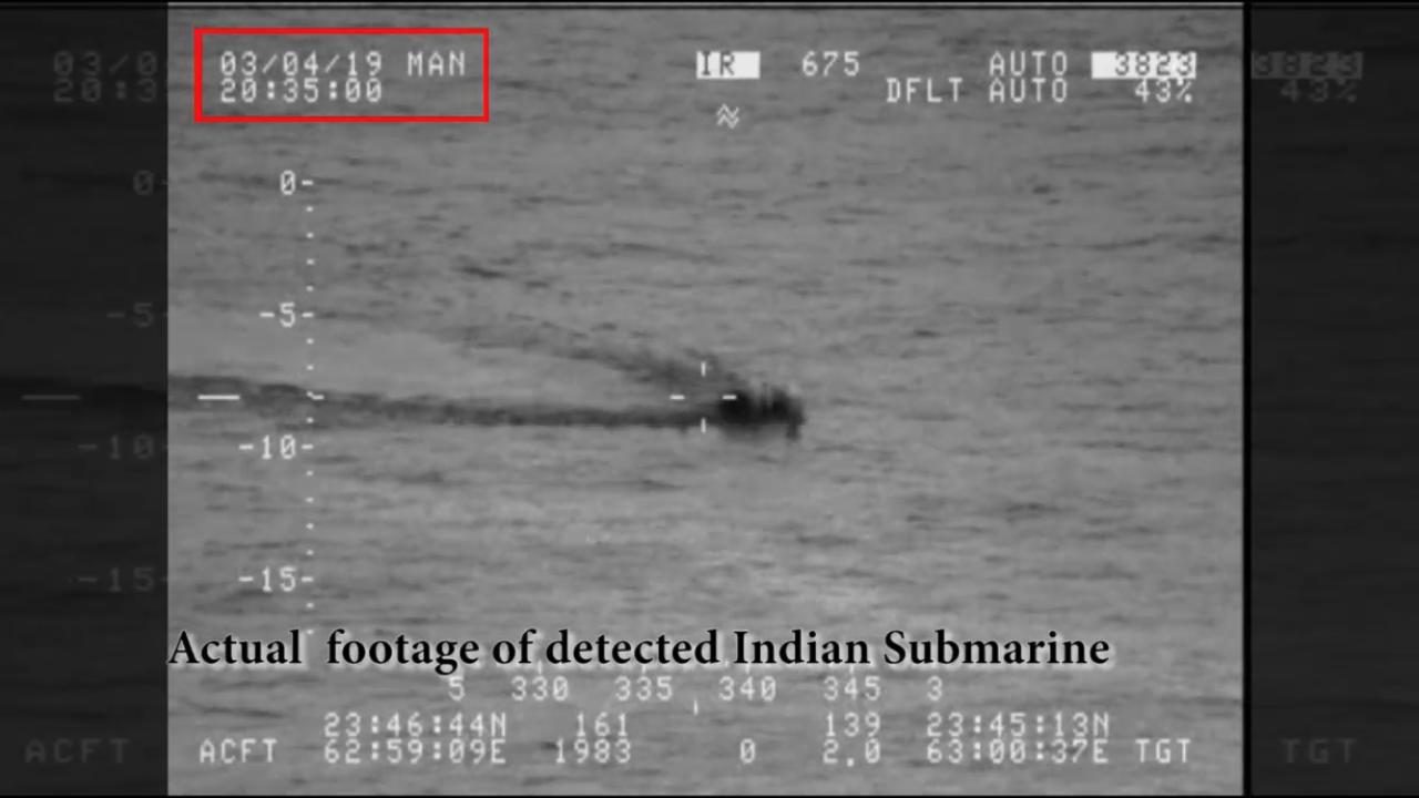 India trashes Pakistans claim of intrusion by Indian Navy submarine