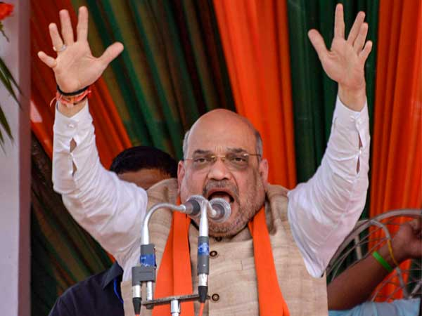 NDAs show of strength at Amit Shahs nomination from Gandhinagar