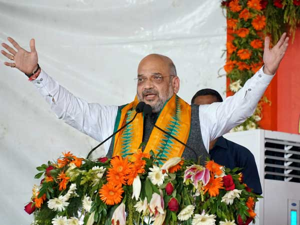 [We will oust every single infiltrator if voted to power again: Amit Shah]