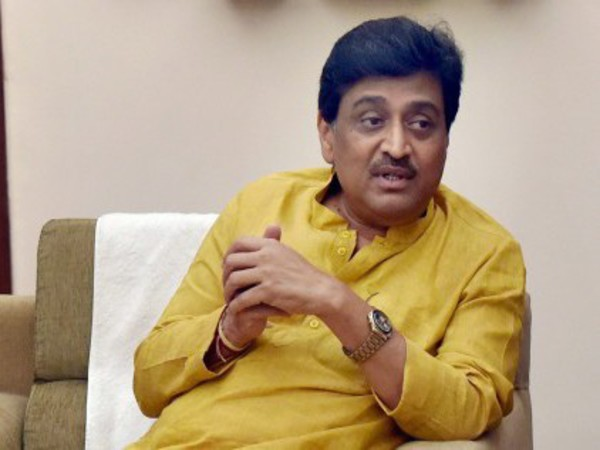 File photo of Maharashtra Congress chief Ashok Chavan