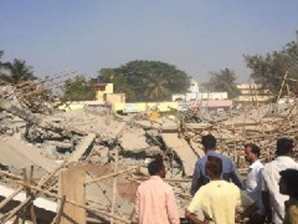 Under-construction building collapses in Dharwad, 70 people feared trapped