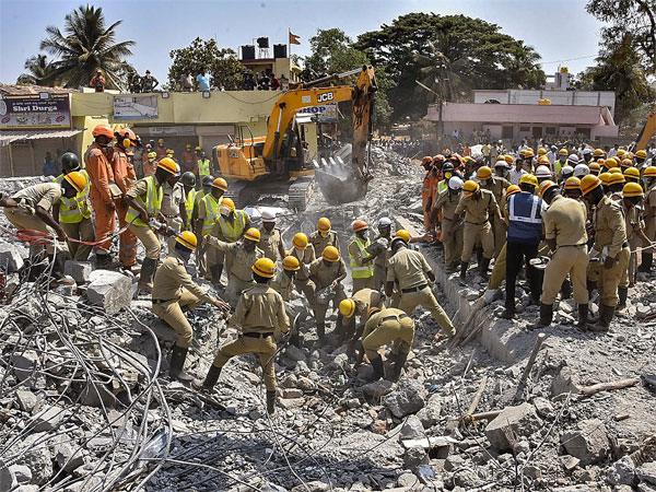 Dharwad building collapse: 7 officers suspended for dereliction of duty
