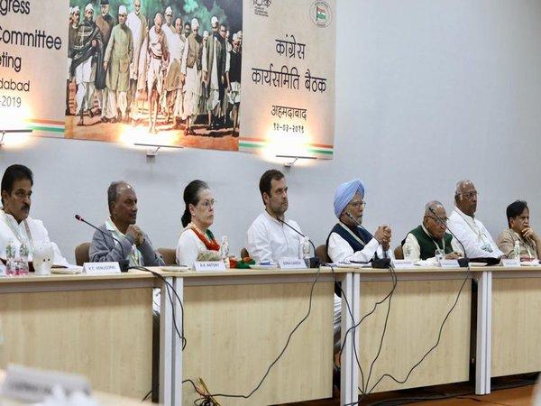 Congress CWC meet begins in PM Modi's turf; Priyanka Gandhi to make debut speech