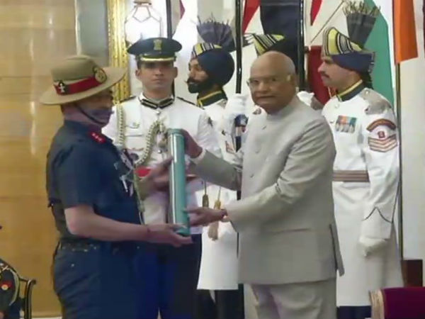 Gallantry Awards 2019: President Kovind honours armed forces personnel