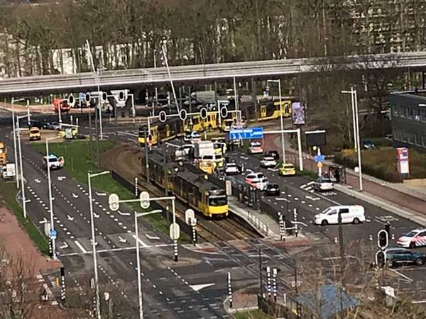 Utrecht shooting: Several injured after gunman opens fire on tram in Netherlands