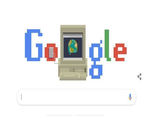 Google dedicates Doodle to 30th anniversary of World Wide Web