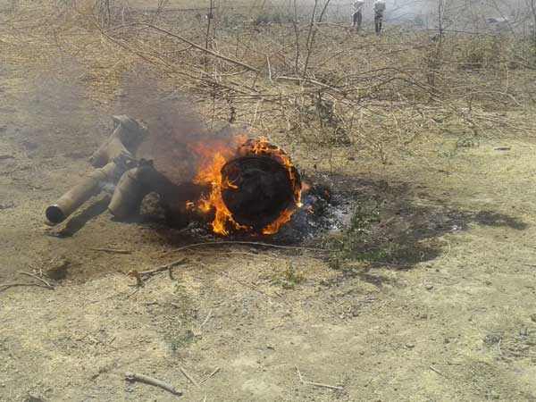 IAFs MiG 27 UPG aircraft crashes on routine mission from Rajasthans Jodhpur