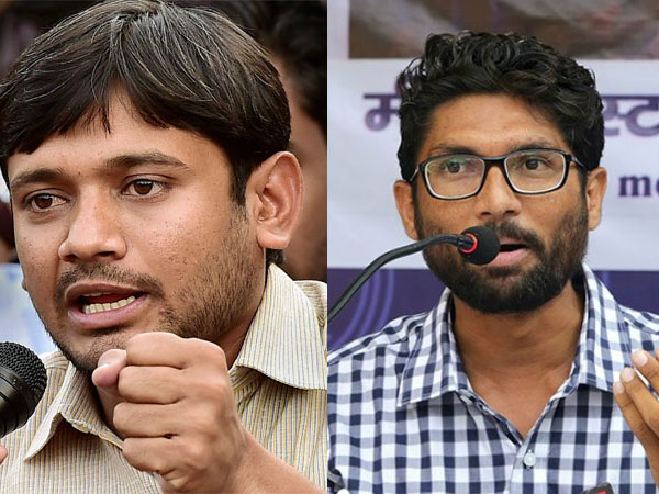 Jignesh Mevai hits campaign trail for Kanhaiya Kumar