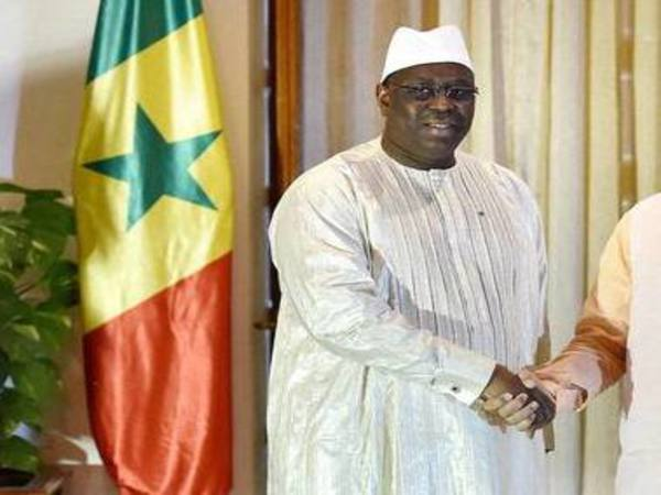 File photo of Senegalese President Macky Sall