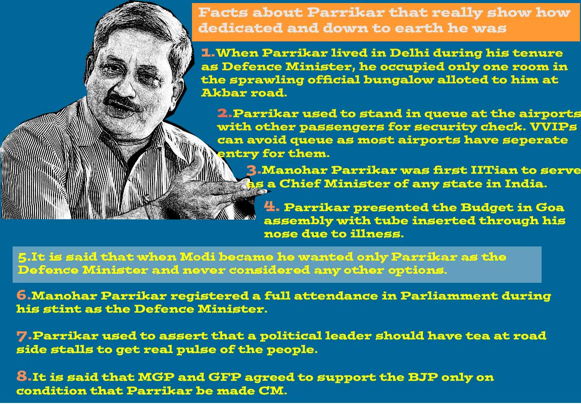 8 things about Parrikar that show he was in a different league
