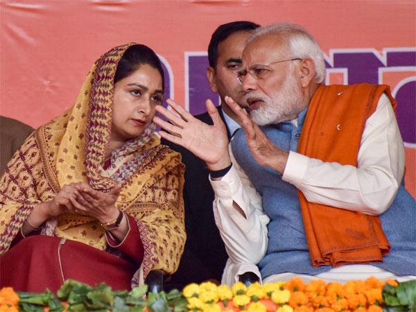 Support Modi for Kartarpur corridor, justice for 1984 riots: Harsimrat Badal