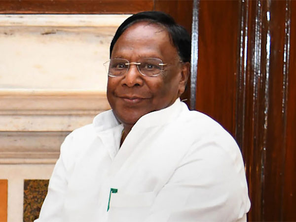 Puducherry Chief Minister V Narayanasamy. PTI file photo