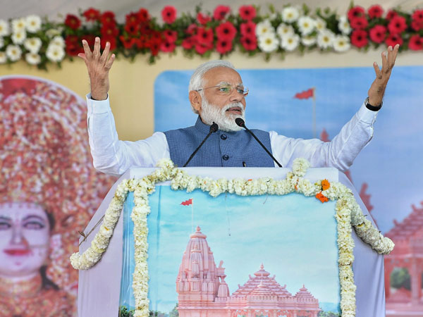 They want to strike Modi, but Modi wants to strike terrorists: PMs jibe at opposition