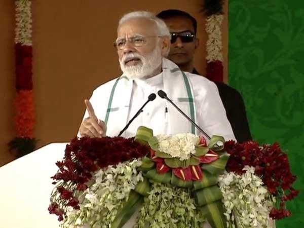 PM Modi targets Congress on the anniversary of Dandi march