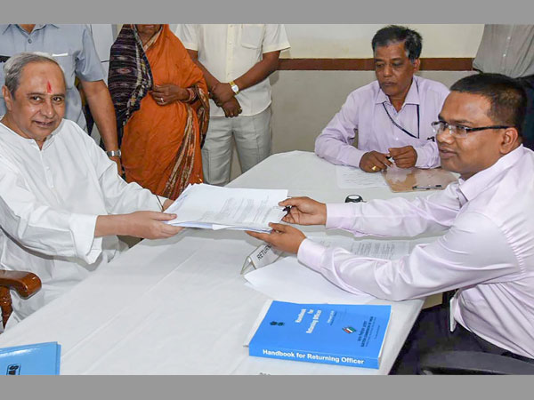 Odisha CM Naveen Patnaik files nomination from Hinjili