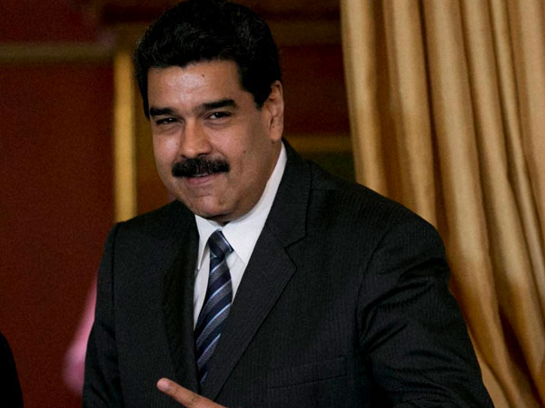 File photo of Venezuela President Nicolas Maduro