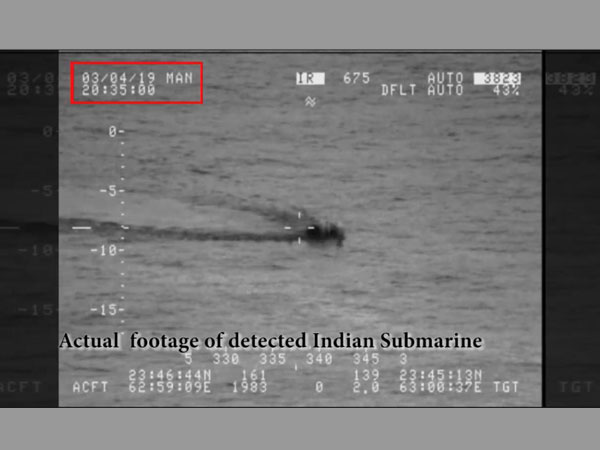 Pakistan Navy claims it detected Indian submarine in its waters, foils infiltration attempt