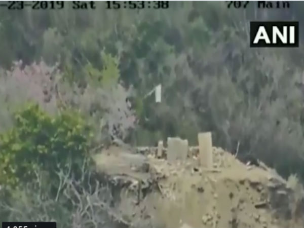 Video: Indian Army destroys Pakistani base in Akhnoor sector