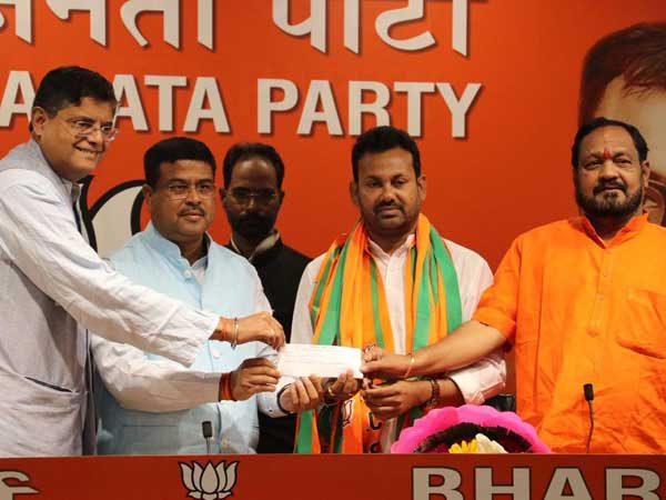 Prakash Chandra Behera joins BJP; Congress loses another MLA in Odisha
