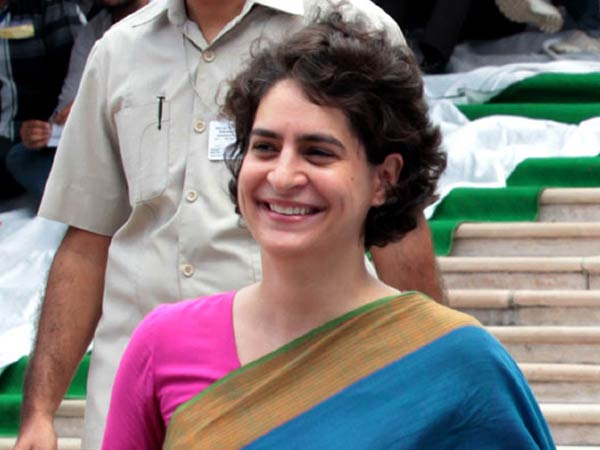Aim of Congress, SP-BSP is to defeat BJP: Priyanka Gandhi