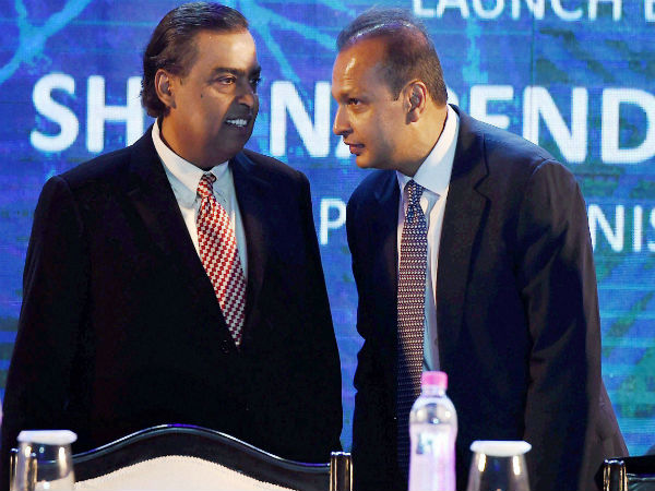 Anil Ambani thanks elder brother Mukesh for clearing Rs 550 crore Ericsson debt