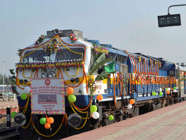 Iconic Rajdhani Express train to complete 50 years of journey tomorrow