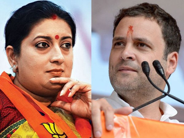 Not just Amethi, Smriti Irani like to take on Rahul in Wayanad as well
