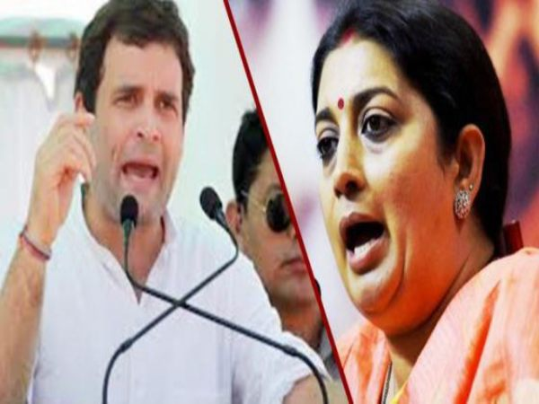 Lok Sabha Election: Smriti Irani to take on Rahul Gandhi from Amethi