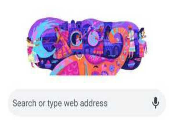 Google celebrates the colourful festival of Holi with a doodle