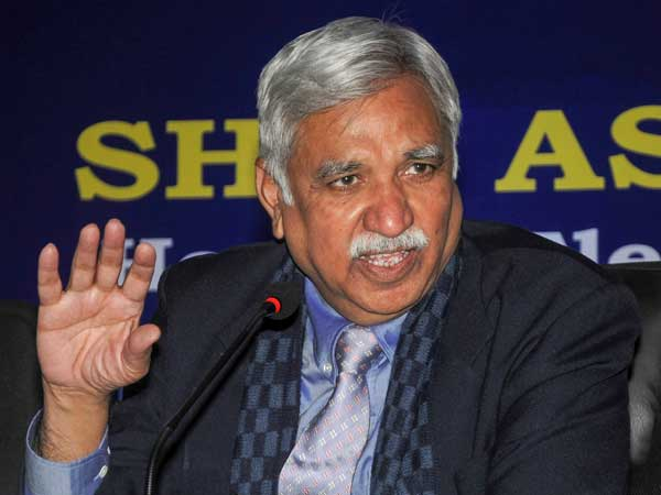Chief Election Commissioner (CEC) Sunil Arora. File photo