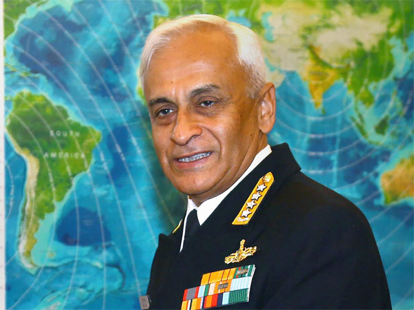 Indian Navy Chief Admiral Sunil Lanba