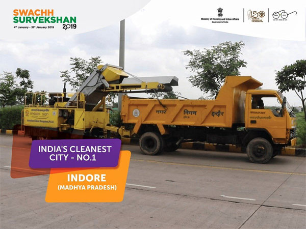 Swachh Survekshan 2019: Indore gets cleanest city tag for third time; Bhopal cleanest capital