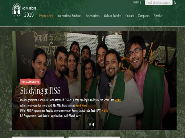 TISS application form