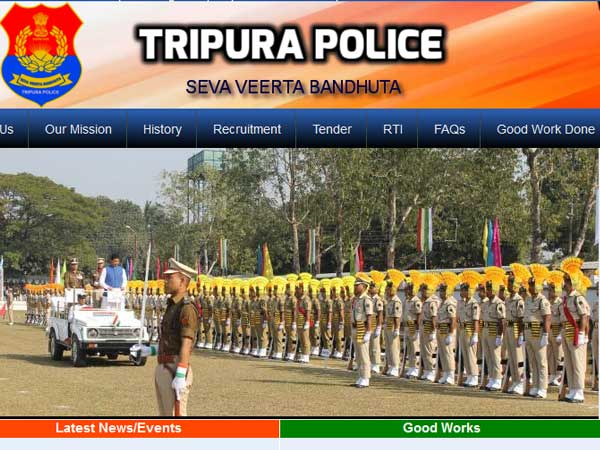 Tripura Police Recruitment Alert 2019: Now, apply for 1488 Riflemen posts