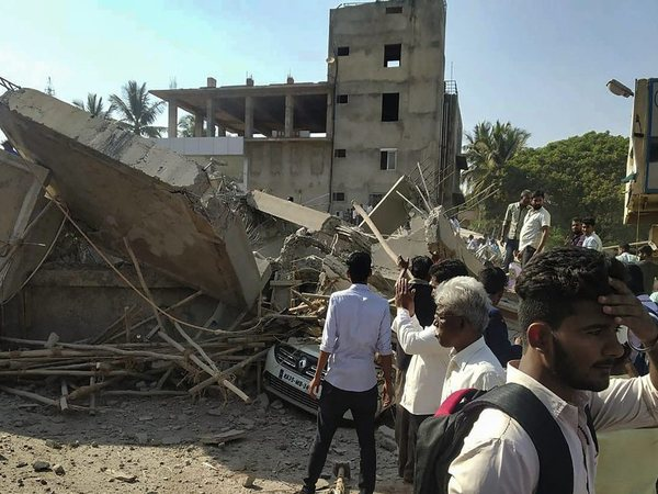 Dharwad building collapse: Death toll rises to 3, 43 admitted to district hospital