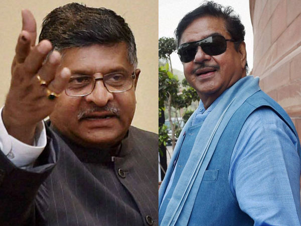In Patna Sahib, two former colleagues Shatrughan Sinha, Ravi Shankar Prasad set for a face-off
