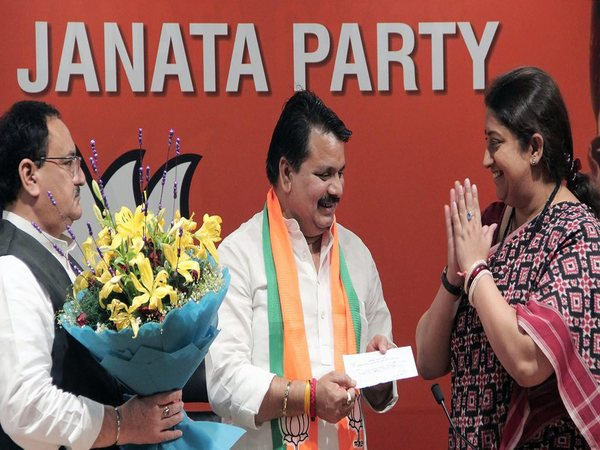 Chandra Prakash Mishra, BSP leader from Amethi, joins BJP