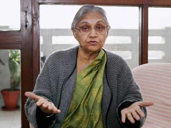 Congress announces candidates for Delhi, Sheila Dikshit to contest from North East