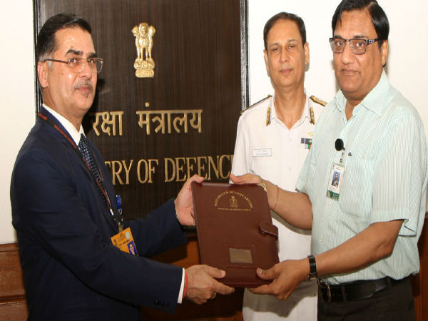 <strong>Defence Ministry signs contract worth Rs 6,311 cr to build anti-submarine warfare ships</strong>