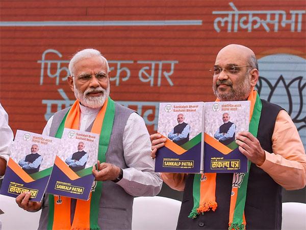Lok Sabha polls: Rajasthan BJP, Congress spar over manifesto