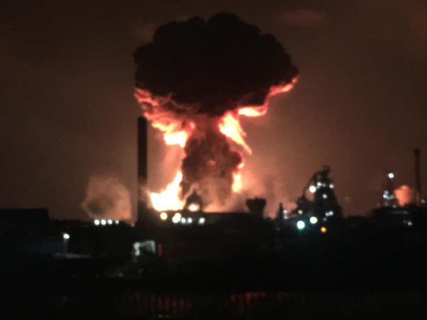 UK: 3 blast reported at Tata Steel plant in Port Talbot; 2 injured