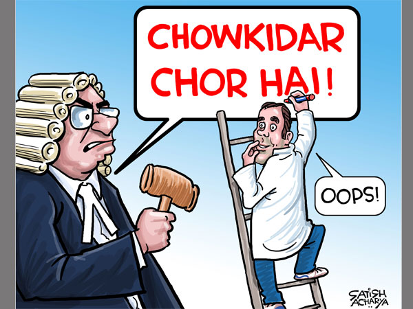 'Chowkidar chor hai' remark: SC issues formal contempt notice against Rahul Gandhi