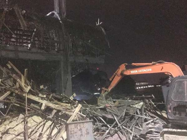Bengaluru: Two killed, 8 injured after under construction building collapse in Yeswanthpur